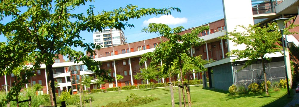 AGORA laat zich kenmerken door schitterend groen en architectuur